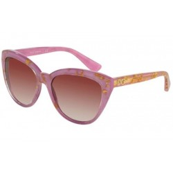 Gafas de sol DOLCE & GABBANA DG4250 DNA 29198H LEAF GOLD ON VIOLET