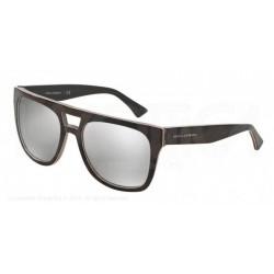 Gafas de sol DOLCE & GABBANA DG4255 URBAN ESSENTIAL / STREETWEAR 29526G CAMO/FLUO RED/BROWN