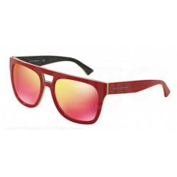 Gafas de sol DOLCE & GABBANA DG4255 URBAN ESSENTIAL / STREETWEAR 29606Q RED/FLUO YELLOW/CAMO