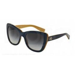 Gafas de sol DOLCE & GABBANA DG4260 URBAN ESSENTIAL / STREETWEAR 29588G TOP PETROLEUM ON GOLD