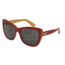 Gafas de sol DOLCE & GABBANA DG4260 URBAN ESSENTIAL / STREETWEAR 296887 TOP RED ON GOLD