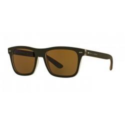 Gafas de sol DOLCE & GABBANA DG6095 URBAN ESSENTIAL / STREETWEAR 289873 TOP CRYSTAL/GREEN RUBBER