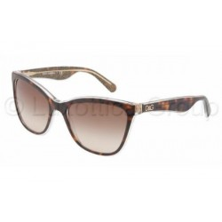 Gafas de sol DOLCE & GABBANA DG4193 LIP GLOSS 273813 TOP HAVANA/GLITTER GOLD