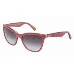 Gafas de sol DOLCE & GABBANA DG4193 LIP GLOSS 27398G GLITTER BORDEAUX
