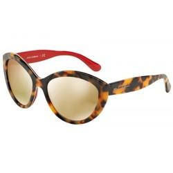 Gafas de sol DOLCE & GABBANA DG4239 CONTEMPORARY 28936G TOP HAVANA ON RED