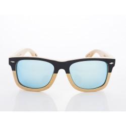 Gafas de sol de madera Woodys Barcelona modelo DOUST 0.107