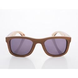 Gafas de sol de madera Woodys Barcelona modelo SKATE 0.8