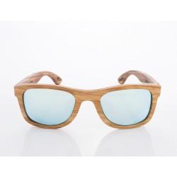 Gafas de sol de madera Woodys Barcelona modelo ZEUS 0.25